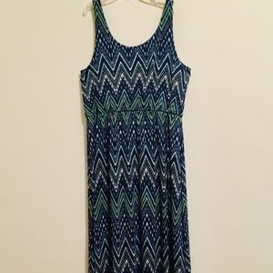 Sonoma Zigzag Maxi Dress XL P